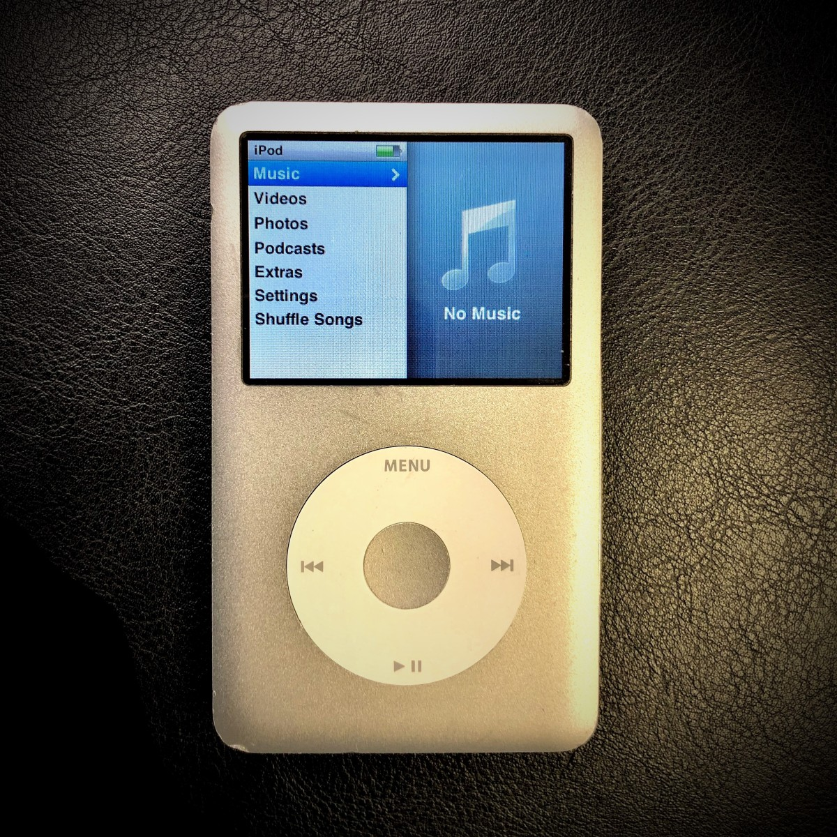 Apple iPod Classic – 6th Gen (Rev 2)