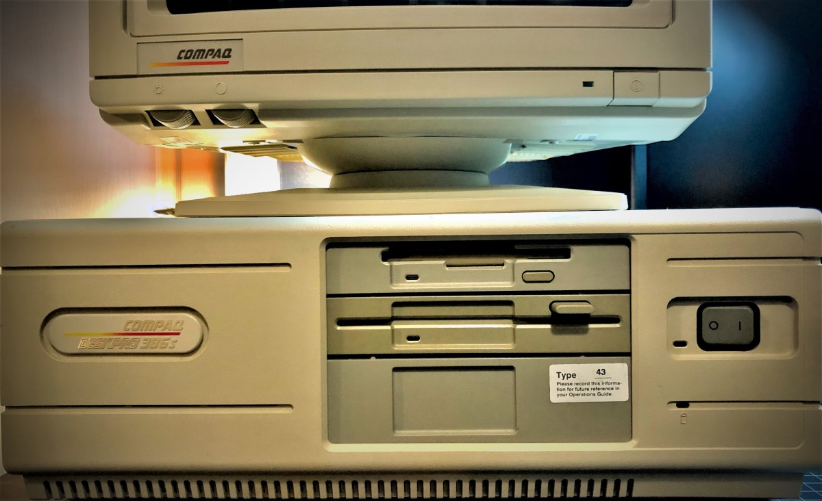 Compaq Deskpro 386s